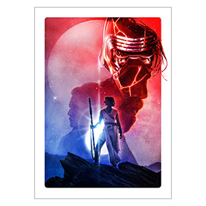 Хардпостер (на твёрдой основе) Star Wars. Размер: 50 х 70 см